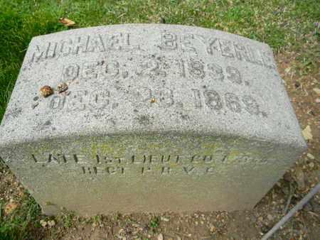 BEYERLE (CW), MICHAEL - Berks County, Pennsylvania   MICHAEL BEYERLE (CW) - Pennsylvania Gravestone Photos