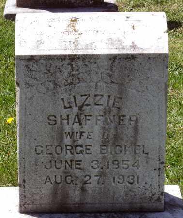 SHAFFNER BICKEL, LIZZIE - Berks County, Pennsylvania | LIZZIE SHAFFNER BICKEL - Pennsylvania Gravestone Photos