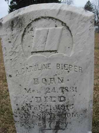 BIEBER, A. CAROLINE - Berks County, Pennsylvania | A. CAROLINE BIEBER - Pennsylvania Gravestone Photos