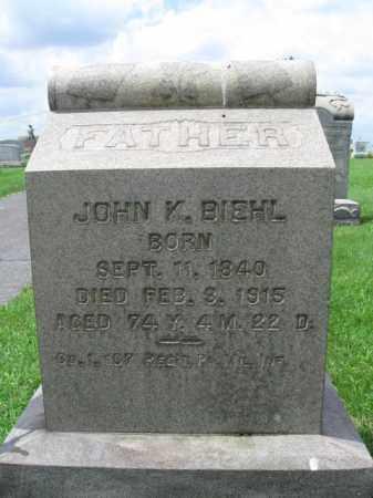 BIEHL (BEAL) (CW), JOHN K. - Berks County, Pennsylvania | JOHN K. BIEHL (BEAL) (CW) - Pennsylvania Gravestone Photos