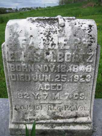 BOLTZ (CW), ELIAS M. - Berks County, Pennsylvania | ELIAS M. BOLTZ (CW) - Pennsylvania Gravestone Photos