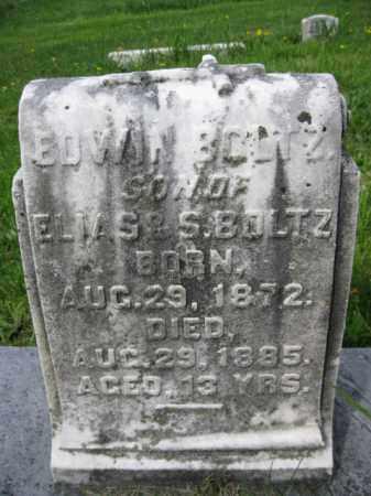 BOLTZ, EDWIN - Berks County, Pennsylvania   EDWIN BOLTZ - Pennsylvania Gravestone Photos