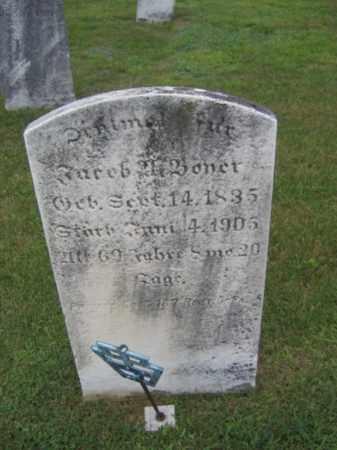BONER (BOYER) (CW), JACOB - Berks County, Pennsylvania | JACOB BONER (BOYER) (CW) - Pennsylvania Gravestone Photos
