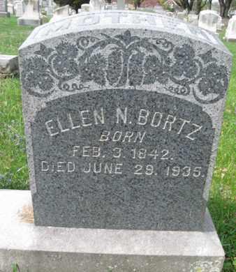 BORTZ, ELLEN N. - Berks County, Pennsylvania | ELLEN N. BORTZ - Pennsylvania Gravestone Photos