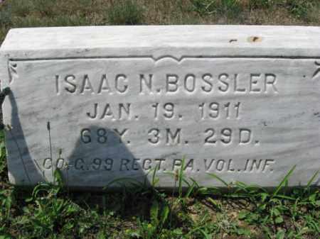 BOSSLER (CW), ISAAC N. - Berks County, Pennsylvania | ISAAC N. BOSSLER (CW) - Pennsylvania Gravestone Photos