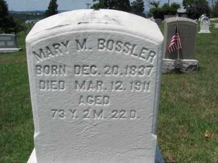 BOSSLER, MARY M. - Berks County, Pennsylvania | MARY M. BOSSLER - Pennsylvania Gravestone Photos