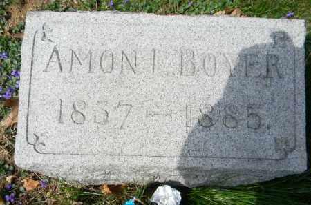 BOYER, AMON I. - Berks County, Pennsylvania | AMON I. BOYER - Pennsylvania Gravestone Photos