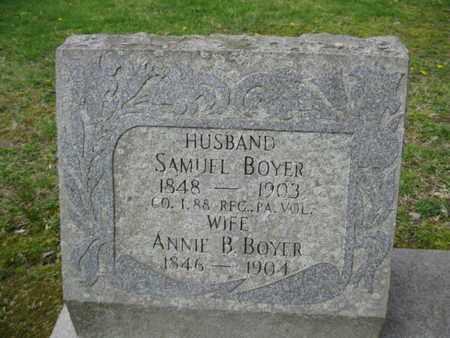 BOYER, ANNIE B. - Berks County, Pennsylvania | ANNIE B. BOYER - Pennsylvania Gravestone Photos