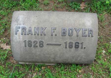 BOYER, FRANK F. - Berks County, Pennsylvania | FRANK F. BOYER - Pennsylvania Gravestone Photos