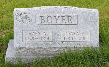 BOYER, SARA E. - Berks County, Pennsylvania | SARA E. BOYER - Pennsylvania Gravestone Photos
