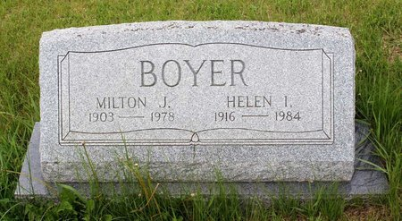 BOYER, HELEN I. - Berks County, Pennsylvania | HELEN I. BOYER - Pennsylvania Gravestone Photos