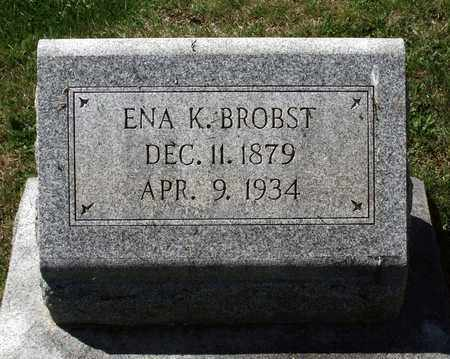 BROBST, ENA K. - Berks County, Pennsylvania | ENA K. BROBST - Pennsylvania Gravestone Photos