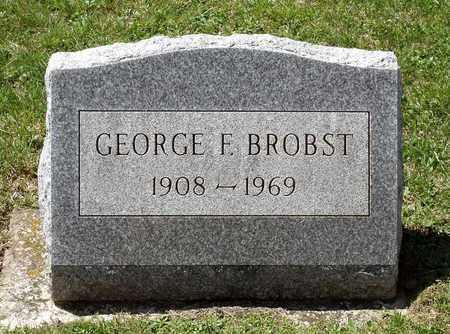 BROBST, GEORGE F. - Berks County, Pennsylvania | GEORGE F. BROBST - Pennsylvania Gravestone Photos