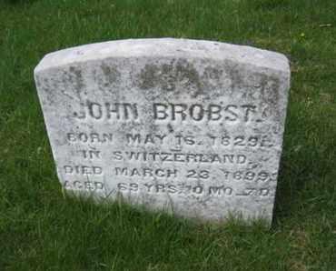 BROBST, JOHN - Berks County, Pennsylvania   JOHN BROBST - Pennsylvania Gravestone Photos