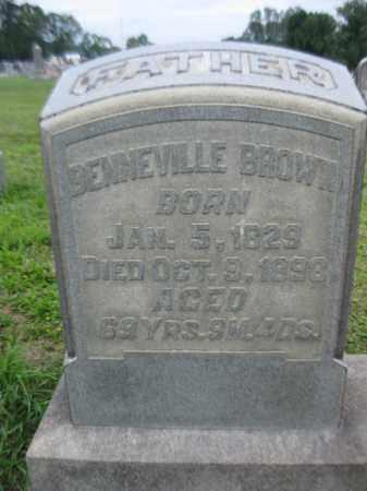 BROWN, BENNEVILLE - Berks County, Pennsylvania | BENNEVILLE BROWN - Pennsylvania Gravestone Photos