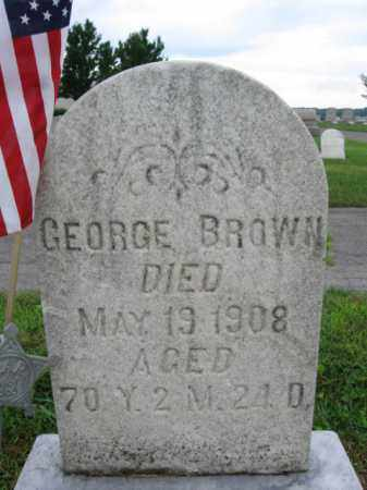 BROWN, GEORGE - Berks County, Pennsylvania | GEORGE BROWN - Pennsylvania Gravestone Photos