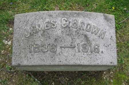 BROWN, JAMES C. - Berks County, Pennsylvania | JAMES C. BROWN - Pennsylvania Gravestone Photos