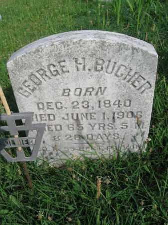 BUCHER (CW), GEORGE H. - Berks County, Pennsylvania   GEORGE H. BUCHER (CW) - Pennsylvania Gravestone Photos