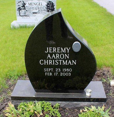 CHRISTMAN, JEREMY AARON - Berks County, Pennsylvania | JEREMY AARON CHRISTMAN - Pennsylvania Gravestone Photos