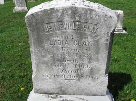 CLAY, BENNEVILLE - Berks County, Pennsylvania | BENNEVILLE CLAY - Pennsylvania Gravestone Photos