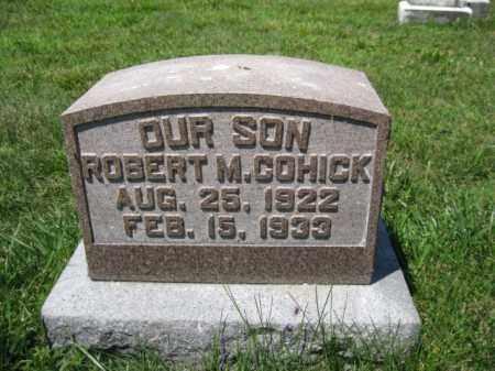 COHICK, ROBERT M. - Berks County, Pennsylvania | ROBERT M. COHICK - Pennsylvania Gravestone Photos