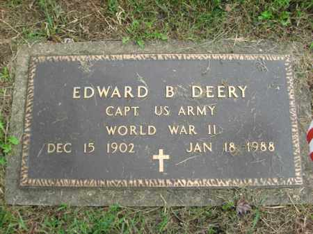 DEERY (WW II), EDWARD - Berks County, Pennsylvania | EDWARD DEERY (WW II) - Pennsylvania Gravestone Photos