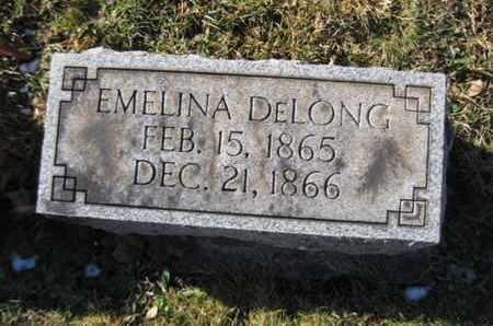 DELONG, EMELINA - Berks County, Pennsylvania   EMELINA DELONG - Pennsylvania Gravestone Photos