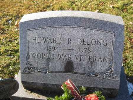 DELONG (WW I), HOWARD R. - Berks County, Pennsylvania   HOWARD R. DELONG (WW I) - Pennsylvania Gravestone Photos