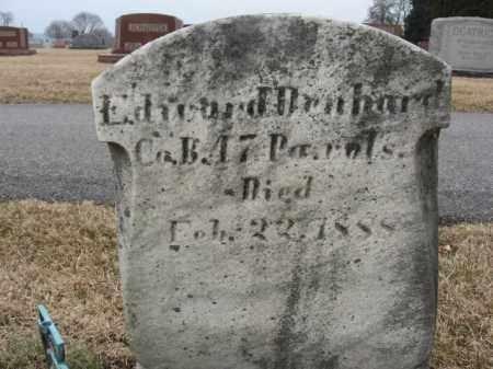 DENHARD (CW), EDWARD - Berks County, Pennsylvania | EDWARD DENHARD (CW) - Pennsylvania Gravestone Photos