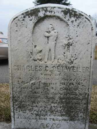 DETWEILER (CW), CHARLES C. - Berks County, Pennsylvania | CHARLES C. DETWEILER (CW) - Pennsylvania Gravestone Photos