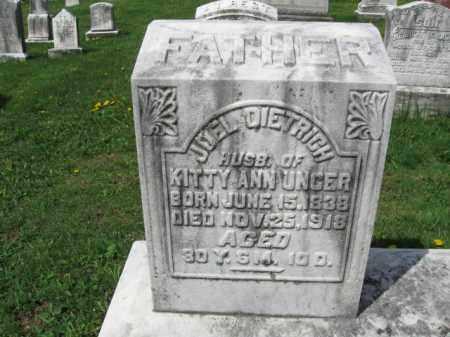 DIETRICH, JOEL - Berks County, Pennsylvania   JOEL DIETRICH - Pennsylvania Gravestone Photos