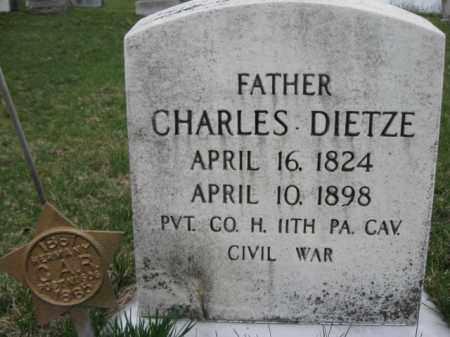 DIETZ  (CW), PVT.CHARLES - Berks County, Pennsylvania | PVT.CHARLES DIETZ  (CW) - Pennsylvania Gravestone Photos