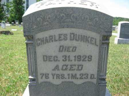 DUNKEL, CHARLES - Berks County, Pennsylvania   CHARLES DUNKEL - Pennsylvania Gravestone Photos