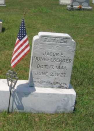 DUNKELBERGER (CW), CORP.JACOB E. - Berks County, Pennsylvania | CORP.JACOB E. DUNKELBERGER (CW) - Pennsylvania Gravestone Photos