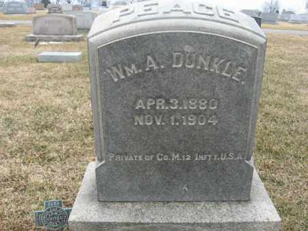 DUNKLE (SAW), WILLIAM A. - Berks County, Pennsylvania | WILLIAM A. DUNKLE (SAW) - Pennsylvania Gravestone Photos