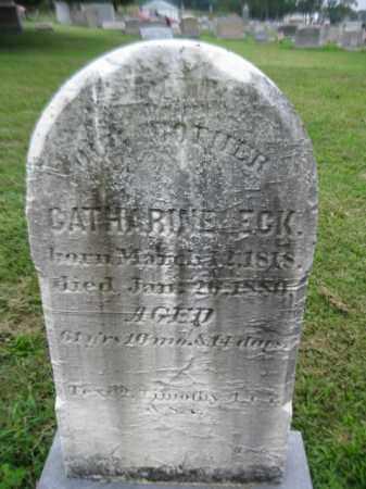 ECK, CATHERINE - Berks County, Pennsylvania | CATHERINE ECK - Pennsylvania Gravestone Photos