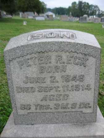 ECK, PETER R. - Berks County, Pennsylvania   PETER R. ECK - Pennsylvania Gravestone Photos