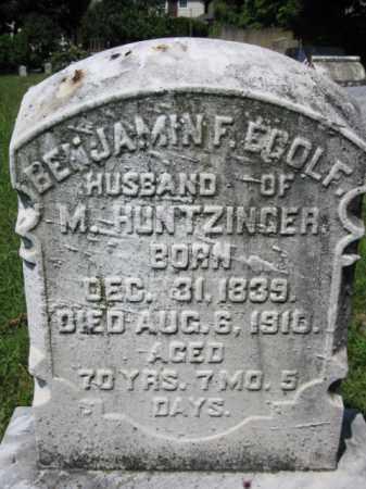 EGOLF (CW), BENJAMIN F. - Berks County, Pennsylvania | BENJAMIN F. EGOLF (CW) - Pennsylvania Gravestone Photos