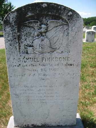 FINKBONE  (CW), SAMUEL - Berks County, Pennsylvania   SAMUEL FINKBONE  (CW) - Pennsylvania Gravestone Photos