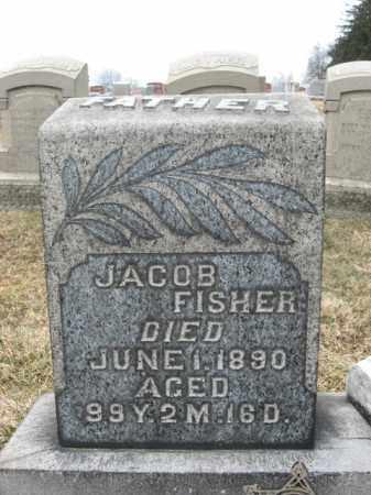 FISHER, JACOB - Berks County, Pennsylvania | JACOB FISHER - Pennsylvania Gravestone Photos