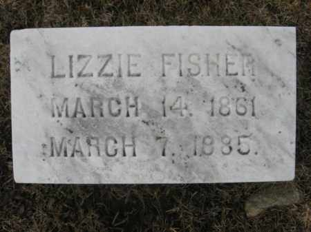 FISHER, LIZZIE - Berks County, Pennsylvania | LIZZIE FISHER - Pennsylvania Gravestone Photos