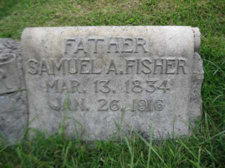FISHER, SAMUEL A. - Berks County, Pennsylvania | SAMUEL A. FISHER - Pennsylvania Gravestone Photos