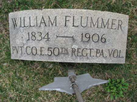 FLUMMER  (CW), PVT. WILLIAM - Berks County, Pennsylvania | PVT. WILLIAM FLUMMER  (CW) - Pennsylvania Gravestone Photos