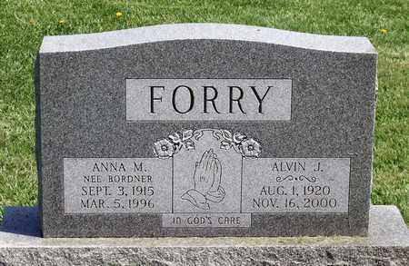FORRY, ANNA M. - Berks County, Pennsylvania | ANNA M. FORRY - Pennsylvania Gravestone Photos
