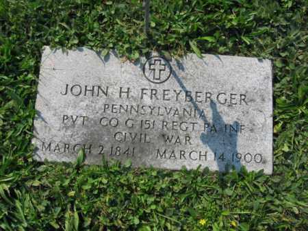 FREYBERGER, JOHN H. - Berks County, Pennsylvania | JOHN H. FREYBERGER - Pennsylvania Gravestone Photos