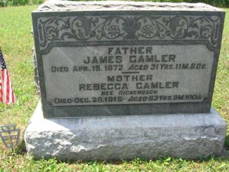 GAMBLER, REBECCA - Berks County, Pennsylvania | REBECCA GAMBLER - Pennsylvania Gravestone Photos