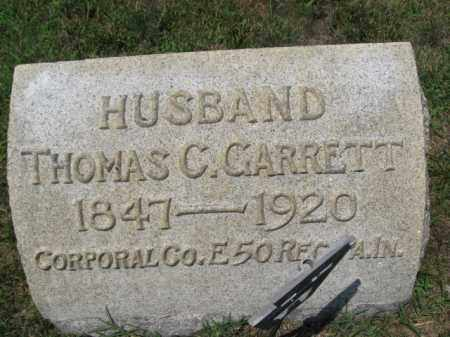 GARRETT (CW), CORP. THOMAS C. - Berks County, Pennsylvania | CORP. THOMAS C. GARRETT (CW) - Pennsylvania Gravestone Photos