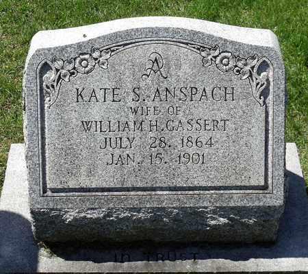 GASSERT, KATE S. - Berks County, Pennsylvania | KATE S. GASSERT - Pennsylvania Gravestone Photos