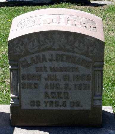 GERHARD, CLARA JANE - Berks County, Pennsylvania | CLARA JANE GERHARD - Pennsylvania Gravestone Photos