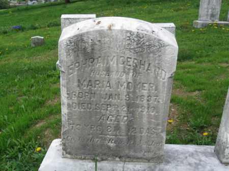 GERHARD (GERHEART) (CW), EPHRAIM - Berks County, Pennsylvania   EPHRAIM GERHARD (GERHEART) (CW) - Pennsylvania Gravestone Photos